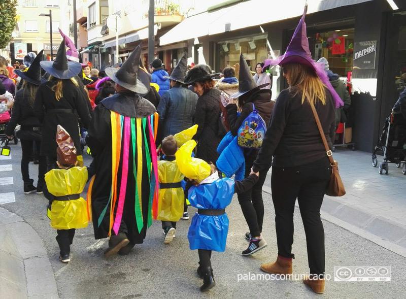 Des de 2004, la rua infantil del Carnaval de Palamós l'havien protagonitzat bàsicament la mainada de les llars d'infants.