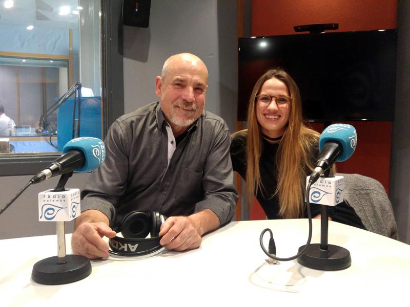 Paco Muriana i Alba Ors, del Projecte Xevi, van visitar l'espai de Ràdio Palamós 'L'Entrevista'.