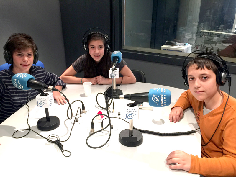Alumnes de l'escola Vedruna que van participar l'any passat en el 'Picalletres'.