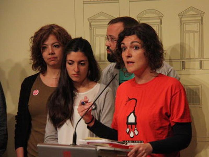 Maria Campuzano, portaveu de l'Aliança contra la Pobresa Energètica. (Foto: Rac1).