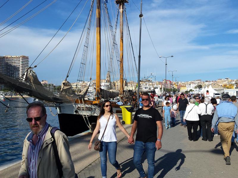 El públic ha omplert, un any més, el recinte del 'Palamós, terra de mar'. (Foto: Ajuntament de Palamós).