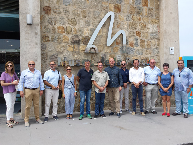 Trobada ahir a Palamós dels dos GALP que hi ha a Catalunya, el de la Costa Brava i el de les Terres de l'Ebre. (Foto: Ajuntament de Palamós).