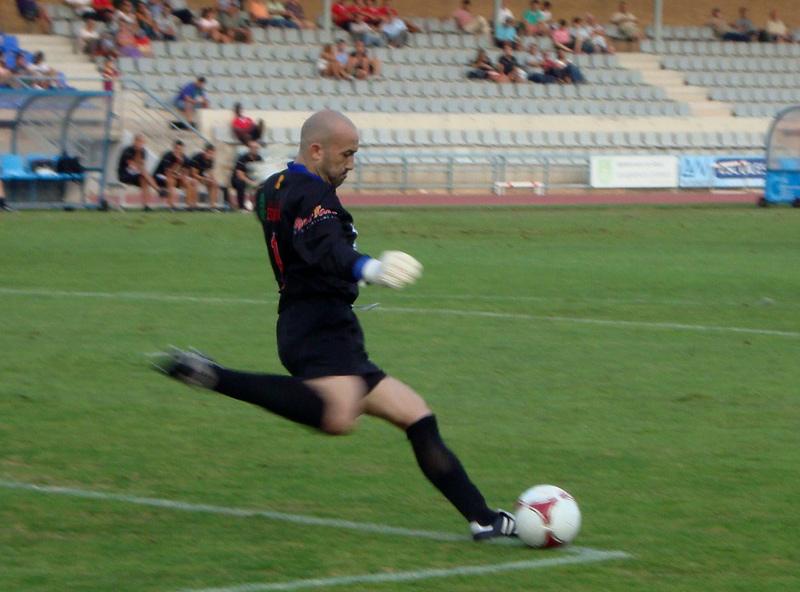Joan Bayona, aquí en una imatge d'arxiu, va tornar a jugar amb el Palamós CF.