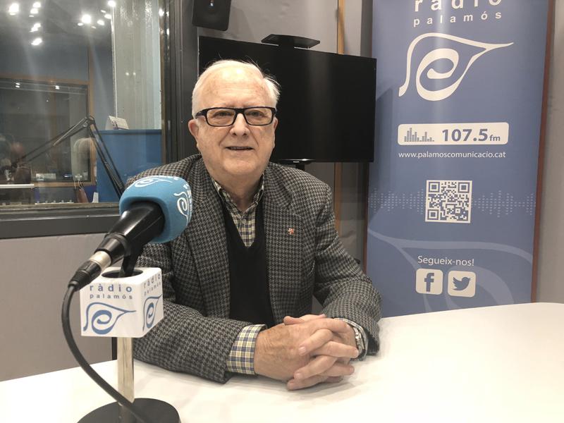 Salvador Reinaldos, president de la Penya Barcelonista de Palamós.