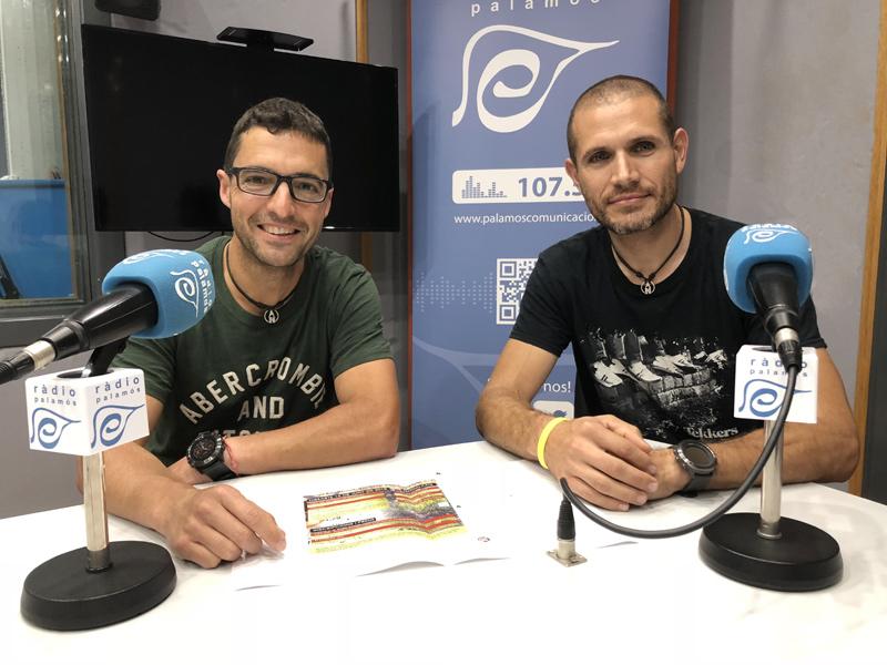 Oriol Borràs i Mikel Silva, del Club Alpí Palamós.
