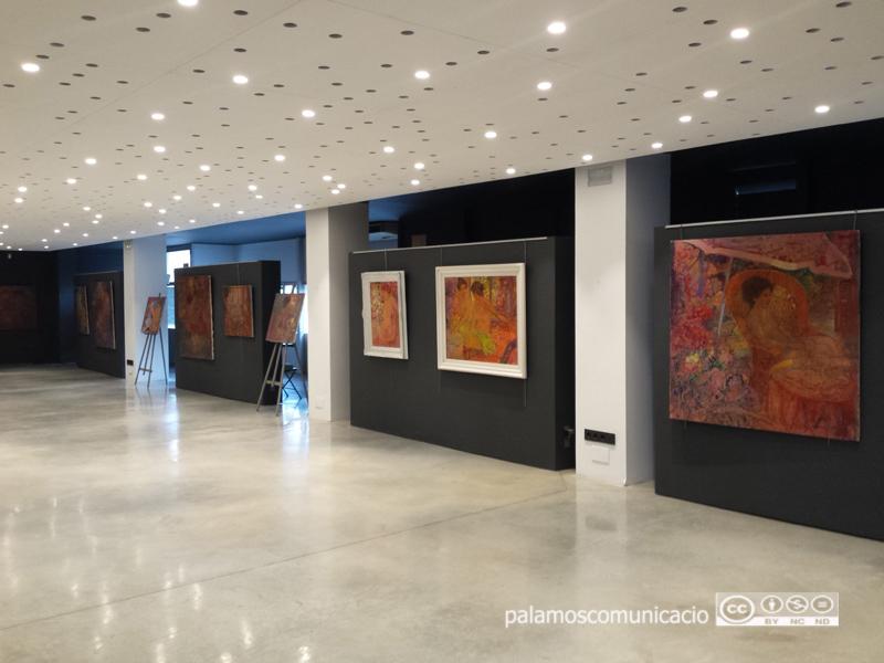 L'actual espai d'exposicions de les galeries Carme, al carrer de Dídac Garrell.
