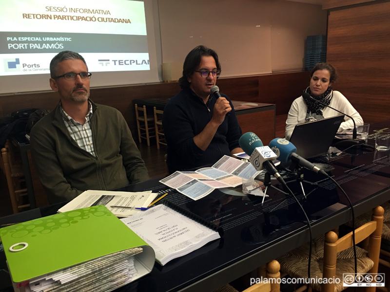 La presentació de les propostes es va fer ahir a l'Espai del Peix.