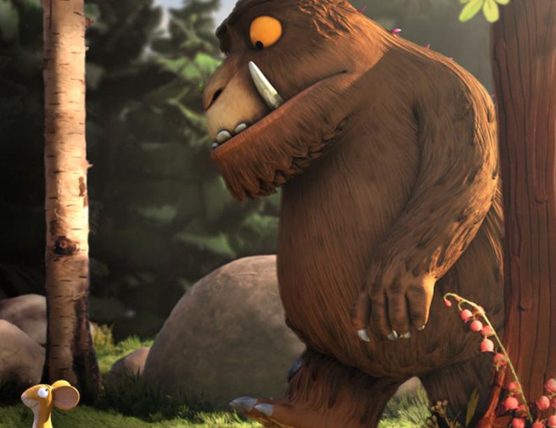 'El Grúfal' va estar nominat als Oscar com a millor film d'animació infantil.