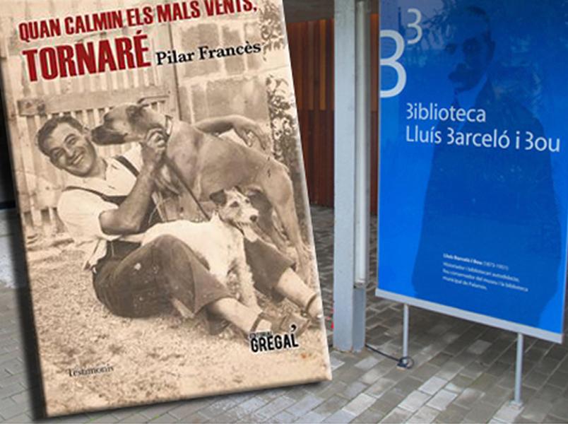 La presentació es farà a la Biblioteca Lluís Barceló i Bou a les set de la tarda.