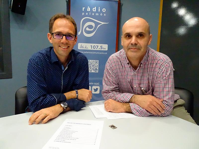 Martí Pàmies i David Merli, promotors de Bàsquet Palamós.