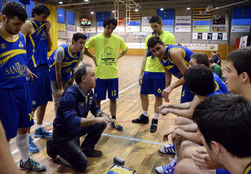 Carles Sala tornarà a dirigir el sènior del Club Esportiu Palamós. (Foto: Olga Grassot).