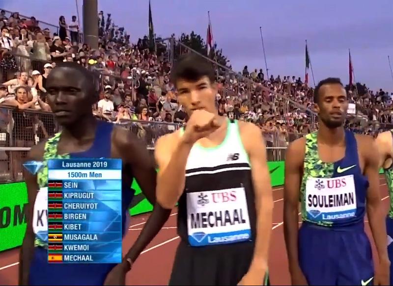 Adel Mechaal va aconseguir a Lausana la seva millor marca personal en els 1.500 metres.