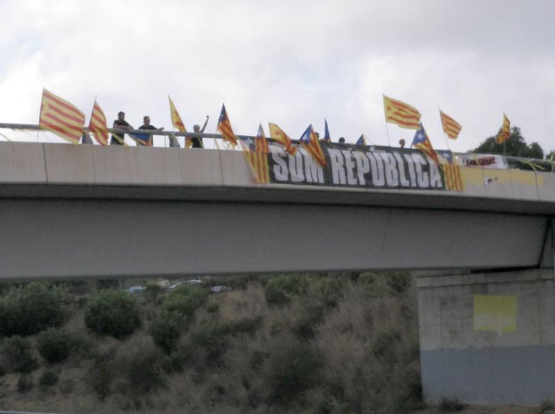 Mobilització a Palamós, aquest cap de setmana passat. (Foto: Rafel Bonillo).