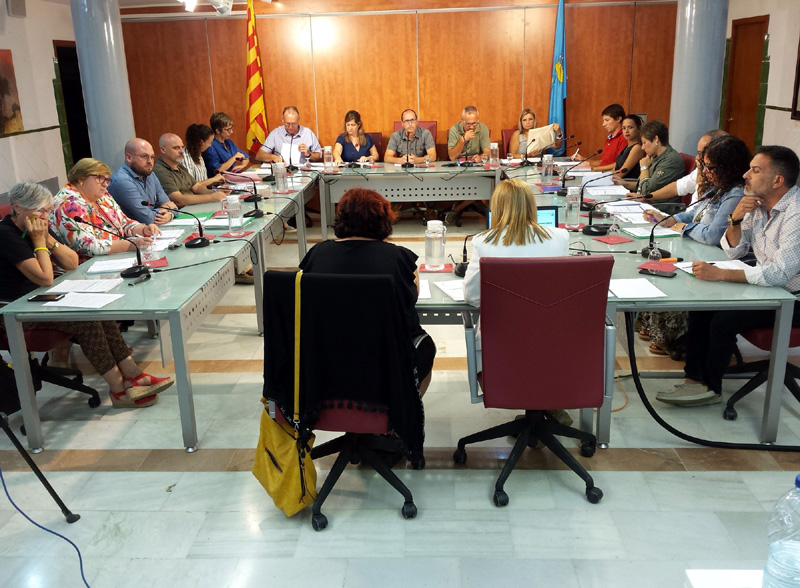 Aquesta discrepància ja la van manifestar tots els grups de l'oposició en el Ple municipal del setembre. (Foto: Ajuntament de Palamós).