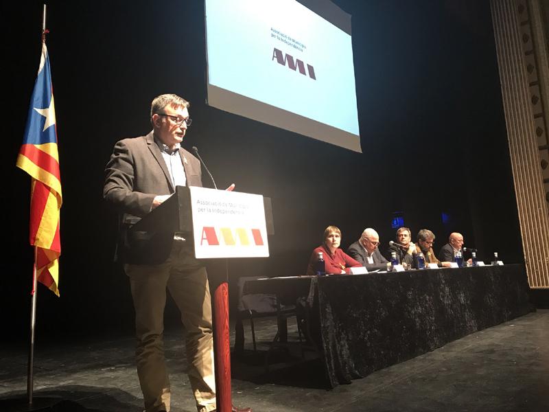 Josep Maria Cervera, el dia del seu nomenament, el març de 2018.