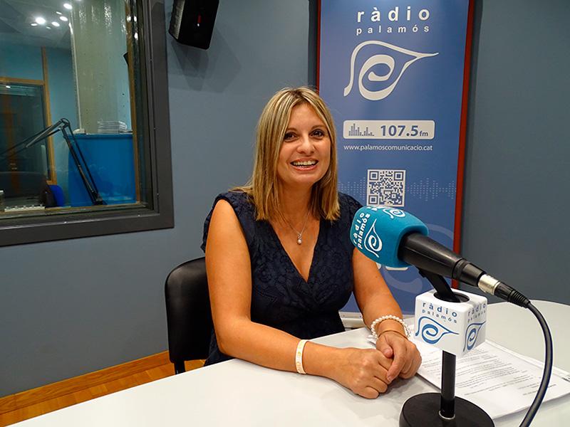 La regidora d'Ensenyament de l'Ajuntament de Palamós, Laura Lafarga.