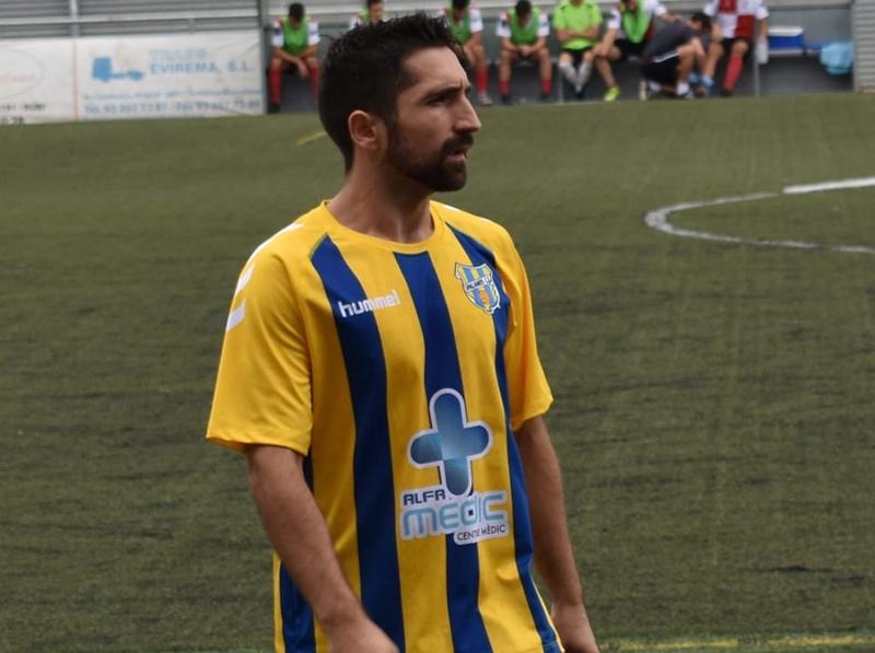Pérez ha tingut poca presència en l'onze titular dels palamosins. (Foto: Palamós CF).