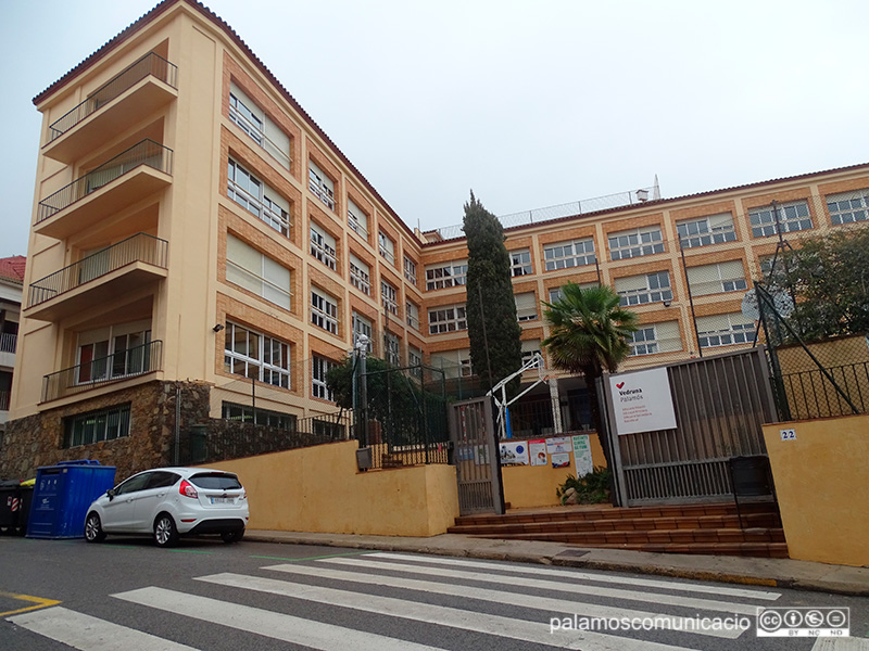 L'Escola Vedruna de Palamós, aquest matí.