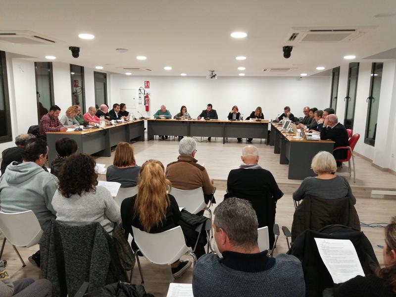 El Ple de l'Ajuntament de Calonge i Sant Antoni. (Foto: Ajuntament de Calonge i Sant Antoni).