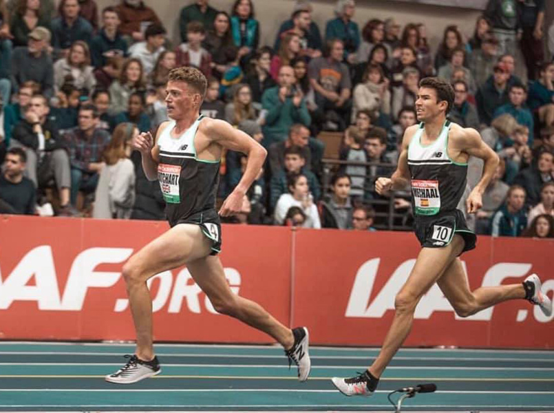 Mechaal competirà en la cursa dels 3.000 metres. (Foto: Adel Mechaal).