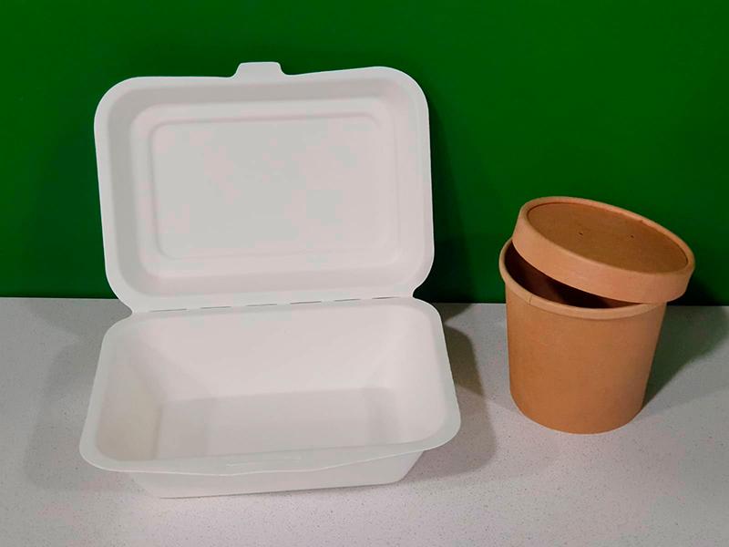 S'eliminen les carmanyoles de plàstic d'un sol ús. (Foto: SSIBE).