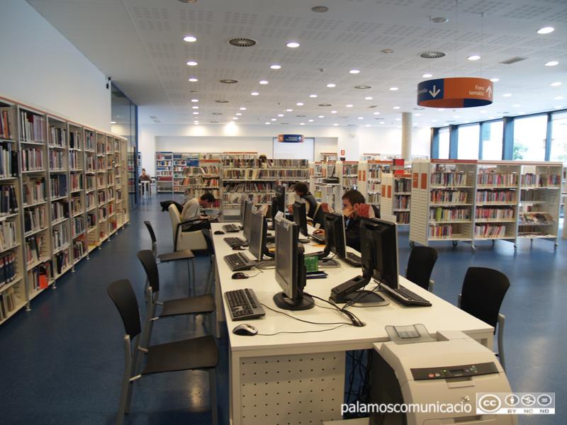 Queda suspès l'accés a les sales de lectura, consulta i estudi.