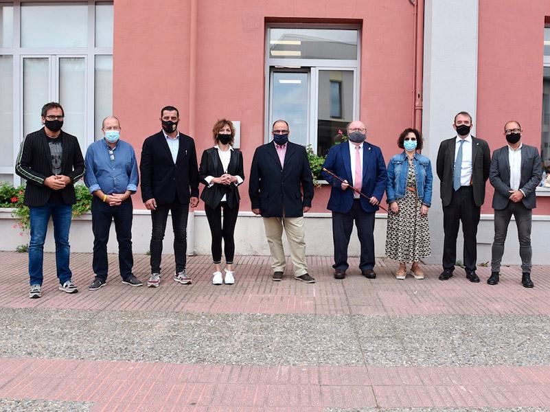 El nou equip de govern de Calonge i Sant Antoni. (Foto: Ajuntament de Calonge i Sant Antoni).