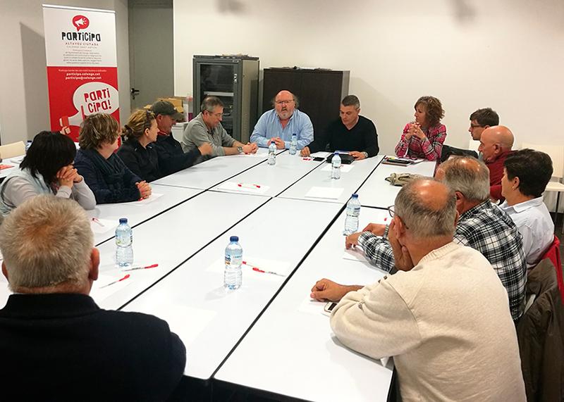 Imatge d'arxiu del procés participatiu dels pressupostos de Calonge i Sant Antoni. (Foto: Ajuntament de Calonge i Sant Antoni).