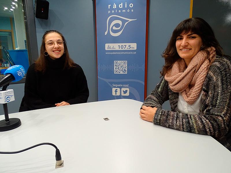 Carla Novo i Núria Lisbona han parlat del Club Lila al 'Tal com som' de Ràdio Palamós.