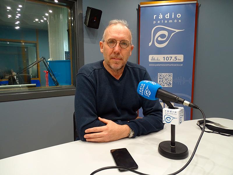 El regidor de Seguretat i Mobilitat de l'Ajuntament, Alfons Bartolomé, en el decurs del programa