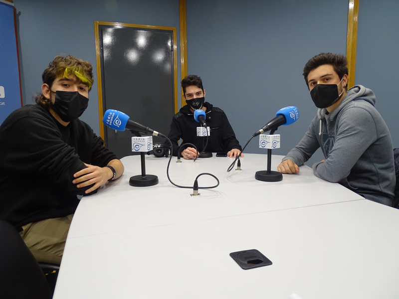 Fran Gutiérrez, Sergi Martí i John Ramos, protagonistes i creadors de 'Los Gitano Power'.