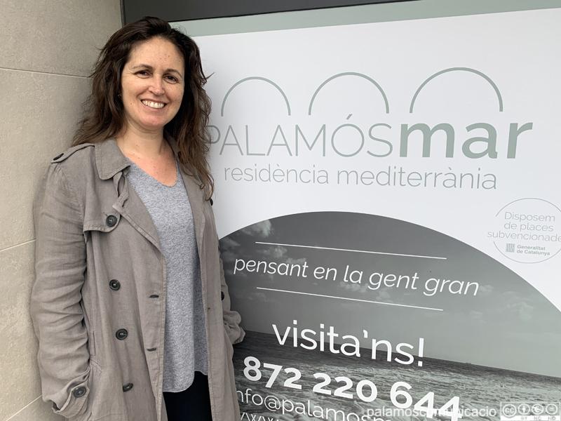 Sandra Medina, directora de la residència 'Palamós Mar'.