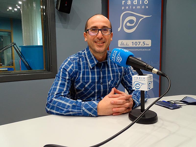 Lluís Puig és l'alcalde de Palamós des de les eleccions del 2015.