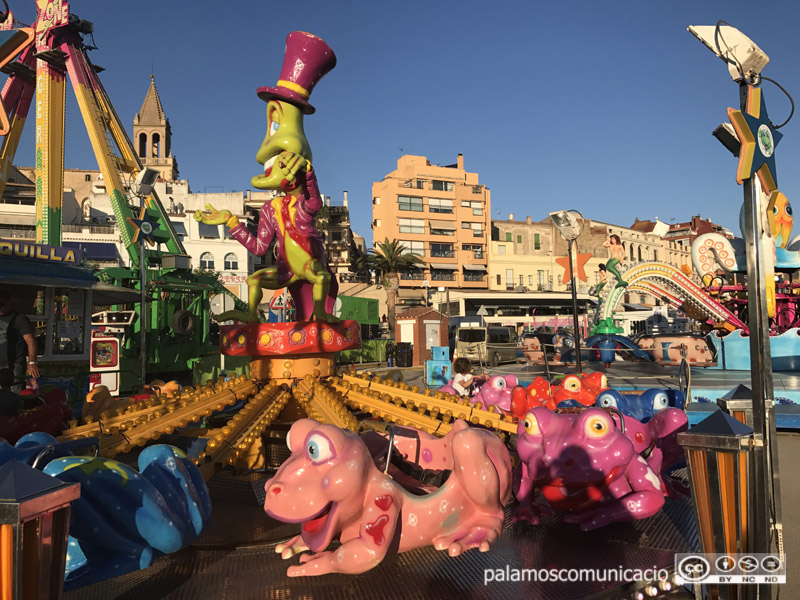 Aquest any la Festa Major tornarà a tenir la seva fira d'atraccions.
