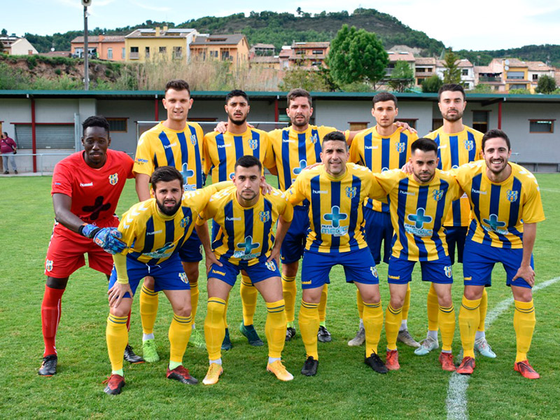 El Palamós CF es desplaça per segona setmana consecutiva a la comarca d'Osona. (Foto: Sergi Cortés).