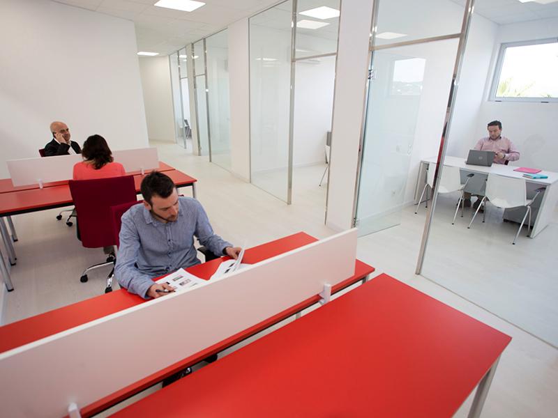 El viver d'empreses acull ara mateix a 14 empreses. (Foto: Ajuntament de Calonge i Sant Antoni).
