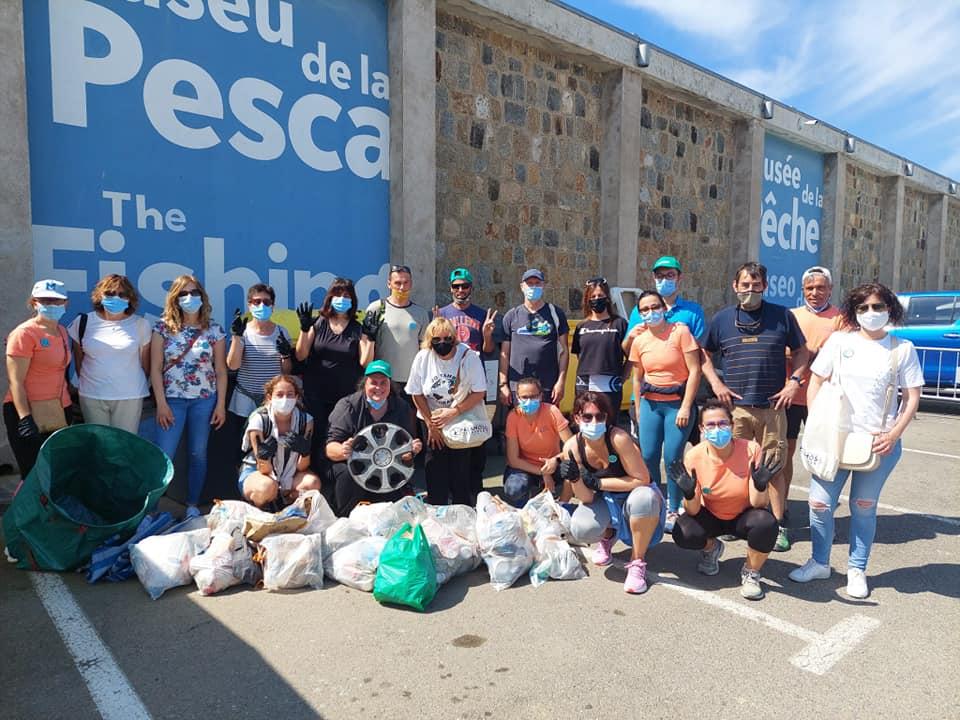 Neteja del fons marí, una de les activitats de conscienciació de l'edició d'enguany del