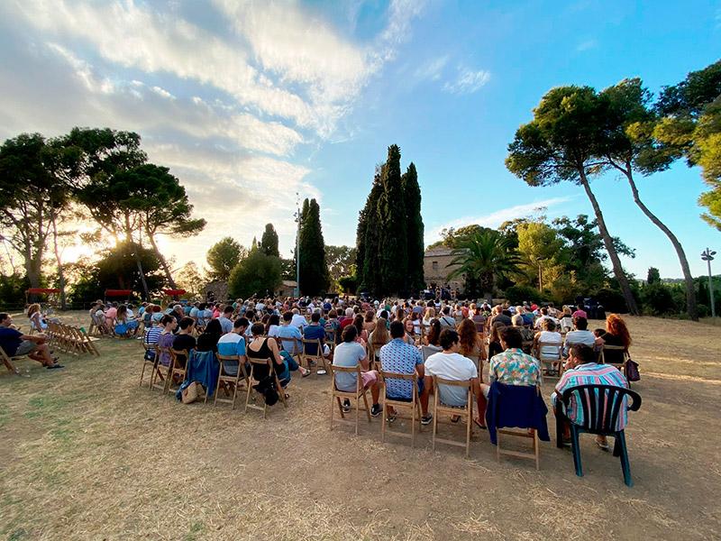 Imatge d'arxiu d'una activitat cultural al Collet de Sant Antoni. (Foto: Ajuntament de Calonge i Sant Antoni).