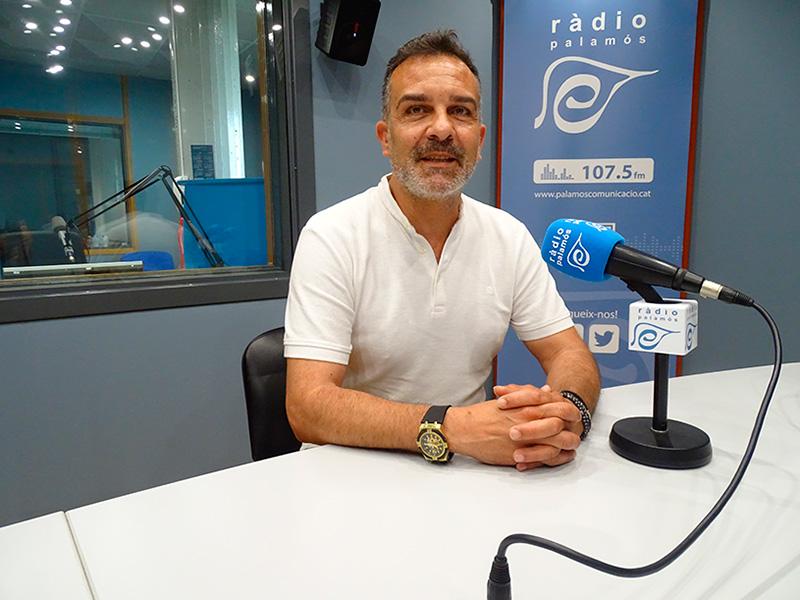 Cristóbal Posadas, regidor de C's a l'Ajuntament de Palamós.