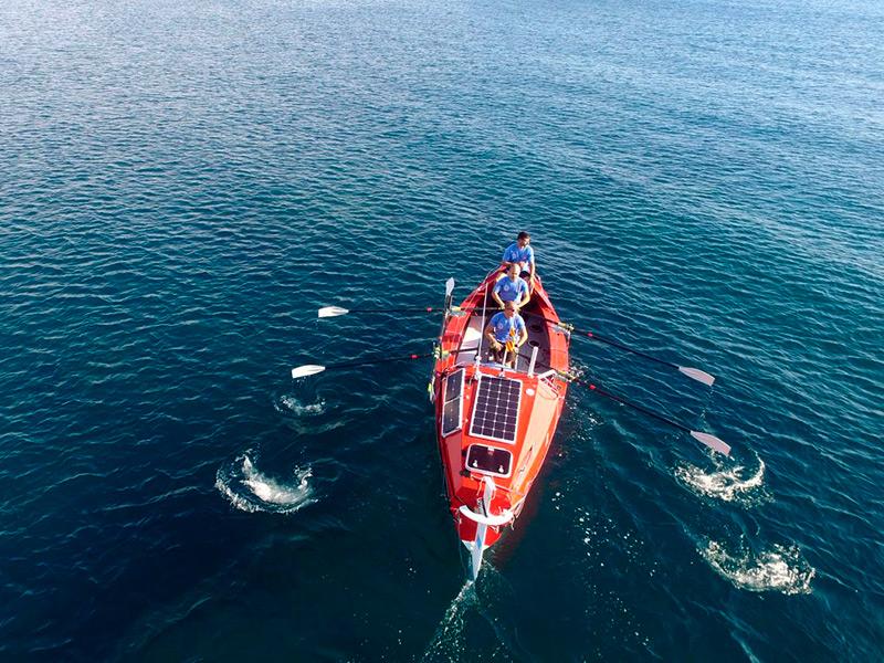 L'equip d'OceanCats té previst fer una ruta de l'Ametlla de Mar a Palamós, entre el 18 i el 20 de juny. (Foto: OceanCats).