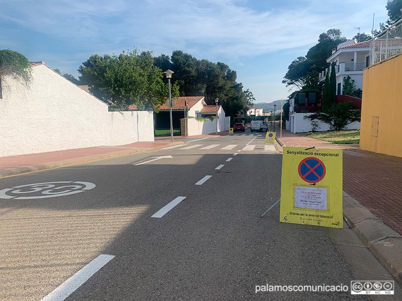 El carrer de Sa Tamardia, protagonista demà de l'actuació de neteja,