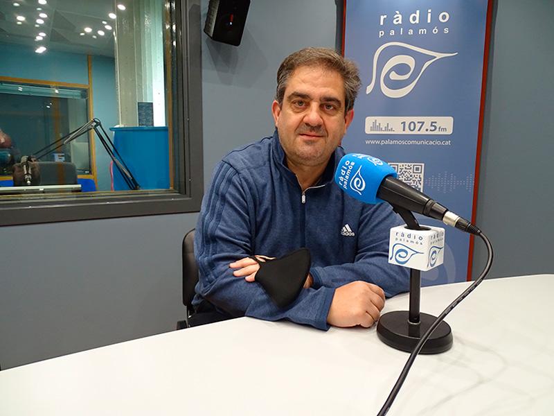 Eduardo Vílchez, el passat mes de març als nostres estudis.