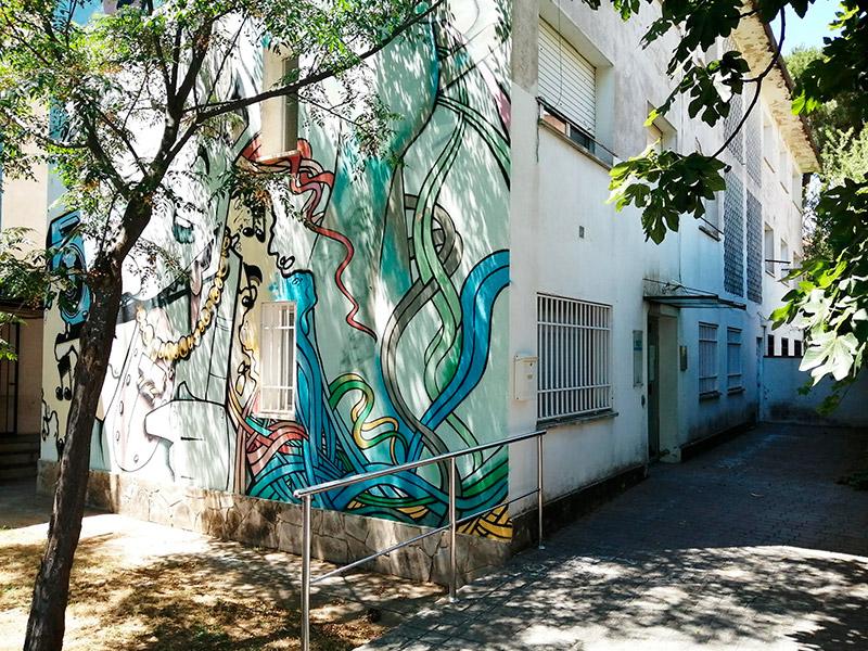 L'exterior de l'Escola de Música de Calonge. (Foto: Ajuntament de Calonge i Sant Antoni).