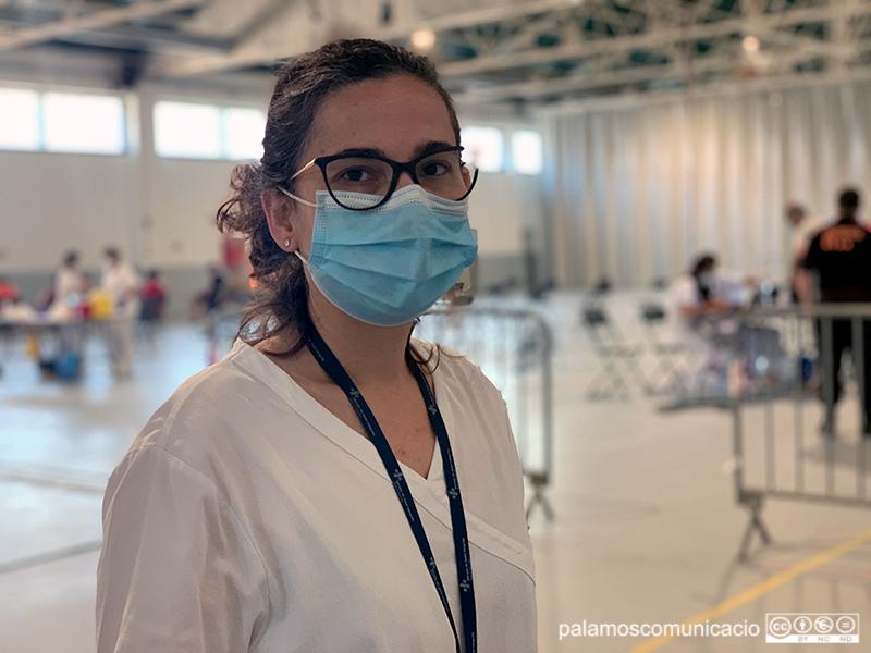 La doctora Meritxell Pérez, directora de l'Àrea Bàsica de Salut de Palamós.