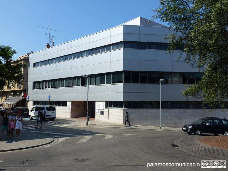 El Centre d'Atenció Primària de Palamós, en una imatge d'arxiu.