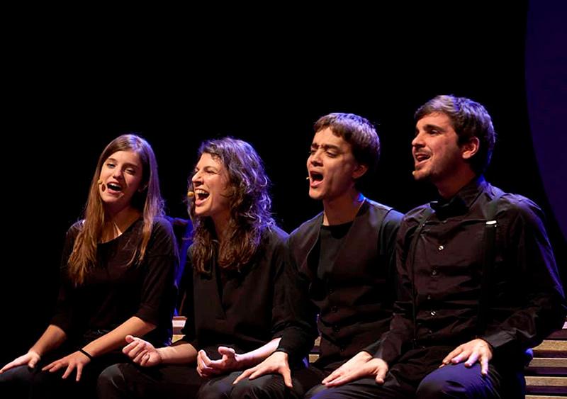 El Quartet Mèlt obrirà l'edició d'enguany d'Amb So de Cobla el proper 3 d'agost. (Foto: Quartet Mèlt).