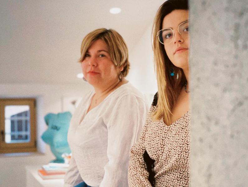 Anna Benaiges i Joanna Ureña, en una imatge promocional de l'obra. (Foto: The Eleven House).