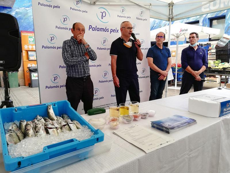 La campanya vol apropar espècies pesqueres locals als mercats de la Costa Brava. (Foto: Ajuntament de Palamós).
