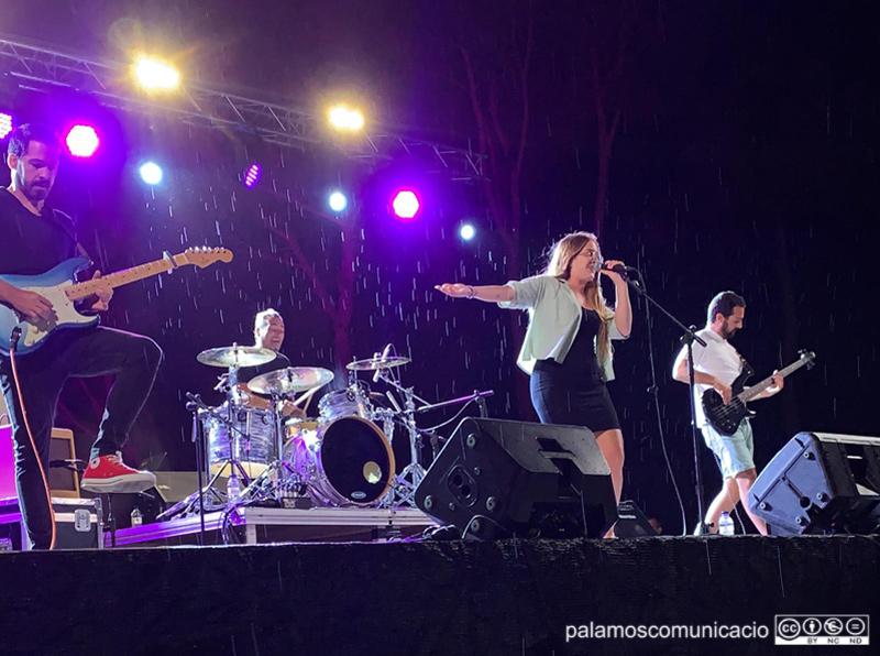 Actuació de The Misip Band, l'agost de l'any passat al Collet de Sant Antoni.