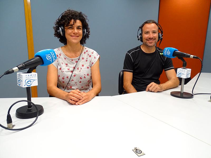 La Clara Antúnez i en Jaume Montanyà, de